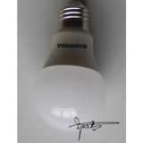 Led Bulb E27 7w Aluminum And Plastic A60 Led Bulb