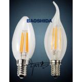 Low price high quality 4w E12 E14 filament C35 led bulb