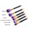 15PCS High Quality Natural Hair Mineral Makeup Brush Set