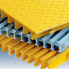 Fiberglass pultrusion frp grating 50mm thickness grp grid
