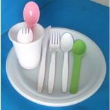 Biodegradable cornstarch Dinnerware spoon/fork/knife