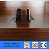 galvanized c sheet metal stud channel/stainless steel hat channel