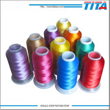 Dope dyed 120D 100% Polyester Embroidery Thread