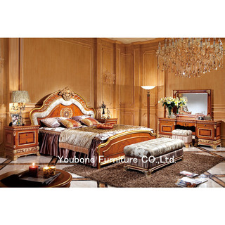 Italian Style Wooden Carved Home/ Hotel Bedroom Furniture ...