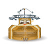 High Speed Inter-Rib Open Width Circular Knitting Machine