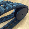 TH-85 rubber tracks with wheels for robot design