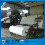 Shunfu New style 787 small Tissue paper machine with gas boiler