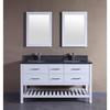 American Solid Wood Floor Mounted Bathroom Vanity