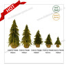2017 Popular Indoor Artificial Needle Christmas Tree