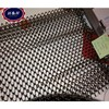 Decorative architectural chain link metal curtain mesh, metal beads hanging chain curtain, architectural mesh