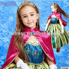 Christmas Dress ELSA ANNA Cosplay Princess Costume Kids Dresses for 3-10years Girls