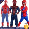 2017 new Halloween Cosplay SPIDERMAN costume for kids