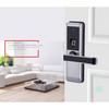 Easy fix, easy install high security electronic intelligent keypad password fingerprint door lock