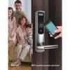 Electronic Biometric Fingerprint Password Card Door Lock/Electronic safety touch screen door lock best selling biometric fingerprint lock