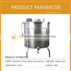 high quality beekeeping equipment stainless steel 12 frames electrical honey extractor