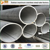 ASTM A269 tp316l stainless steel welded pipe astm a312 tp304 welded stainless steel tube