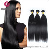 Hot sale remy unprocessed natural black hair extension human hair