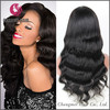 Overnigh delivery wet and wavy virgin brazilian human hair full lace wig
