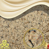 JW-6823 Mature Age-Nice Artificial Quartz Stone Slab for Countertop