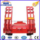 2/3 Axles 40t-100t Low Bed Cargo Truck Semi Trailer