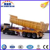 Heavy Truck 3 Axle U Shape Dump Trailer
