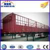 3 Axles Stake Tri-Axle Fence Transport Utility Cargo Semi Trailer