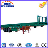 Manufacturer Jushixin Best-Selling 3 BPW Axles Fence Truck Cargo Utility Trailer for Sale