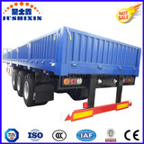 Side Wall Semi Trailer for Bulk Cargo Transport