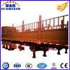3 Axles Stake Tri-Axle Fence Transport Cargo Trailer