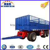 Factory Price 2 Axle Drawbar Dolly Towing Flatbed Full Trailer for Cultivator Farm Use for Sale