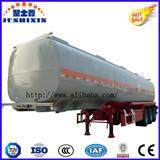 3 Axle 52cbm Aluminium Diesel Petrol Fuel Utility Tanker Truck Semi Trailer