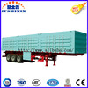 3 Axle 50t Bulk Cargo Truck Trailer/Cargo Box Semi Trailer