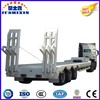 China Manufacturer Best Selling Heavy Duty Truck Low Bed Trailer