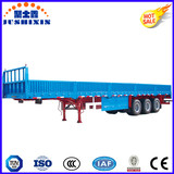 13.3m Sideboard Cargo Truck Trailer with Three Axles