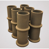Silicon Carbide Composite Pipes with Great Quality
