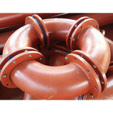 Lining anti - corrosion pipe fittings