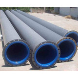 Lining rubber pipe corrosion