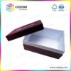 Half covered lid gift box shoe box