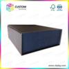 Foldable Rigid Cardboard Box with Magnet Closure