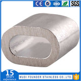 1057 Aluminum wire rope Oval sleeves
