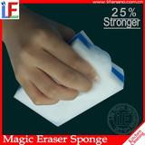 White Useful Multi-Functional Cleaning Sponge Inbuilt Soap