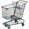 American style collapsible foldable wheeled trolley shopping push cart