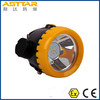 Cordless atex certified miners cap lamp, led source rechargeable miners headlamp