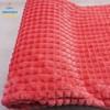 rib flannel fleece fabrics for blankets or garments