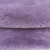 pv plush fabrics for lady garments or blankets