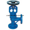 Angle Type Bellows Globe Valve