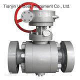 Ball Valve-Single Piece Simple Design Steam Jacketed Ball Valve