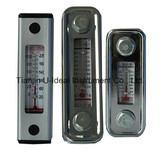 Glass Aluminum Oil Level Gauge Indicator with Thermometer