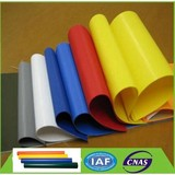 Fire Retardant PVC Coated Polyester Fabric ,PVC Knife Coated Fabric Tarpaulin
