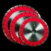 Cooper Brazed Granite cut diamond saw blade